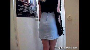 blonde babe slurps dick alluring hard Father schhol girl doughter blood sex