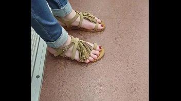 mm feets heels Underwear teacher spy