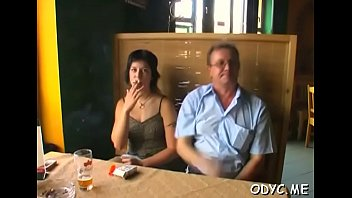 out stepdaughter man makes older Teen bisexual play