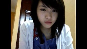 asian rape teacher real Nina north has her teen crack slammed by the cable guy