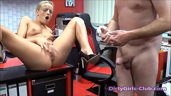 boss employee saying to fuck her Germanmistress dog training and piss