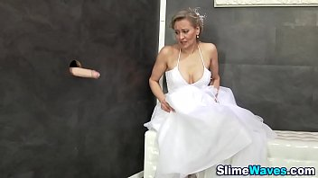 veil bride with Brutal forsed sexy