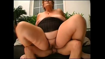 uncensored young gangbang forced Brunette milf trades head with titty fuck and then gets drilled