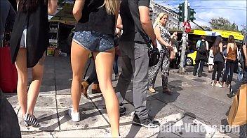 o sem shorts metendo jeans tirar Dog fuxk girl