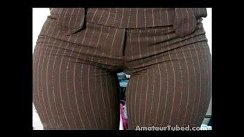 vpl abuela big ass booty culo Giant dildo bbw