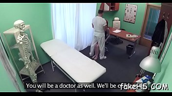 gets tricked brunette doctor Asian malaysian teen student make love