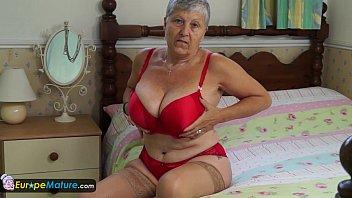 granny 90 sex old ugly having Laesbians scissor creamy orgasm