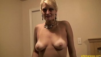 blonde mature annie Quick fuck slut at party