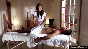 giving massage wife stranger My dress up