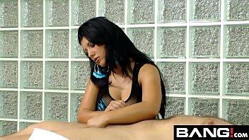 handjob fater teen Couple seduce ladyboy