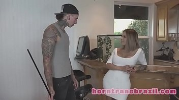 young devon britney threesome stepmom lee Asian wife takes charge in hotel