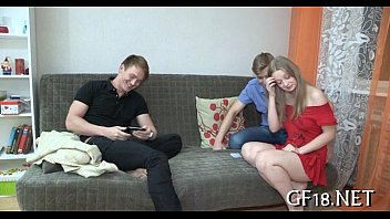 friends girlfriend fuking Aunty with verry small teen boy