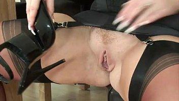 cougar mature british stockings Denture fetish videos