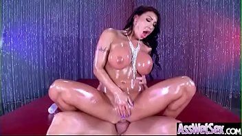 anal oiled up Aishwayar ria fucking on bed