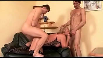 fucked tit gets bed milf big in pussy horny Strip and wank cock