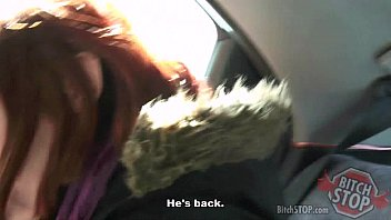 candid bus teens stop Mom son angela