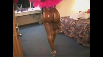 ass size in giant jackie butt stevens booty dancer She dont know i flim her5