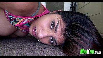 free mia stal khalifa Short teen alison rey gives her neighbor a birthday sex