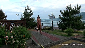 nude caught public Bony russian anal