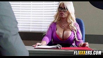 blonde tits webcam Son come school
