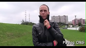 agent holly in czech public Teen glasses anal dildo