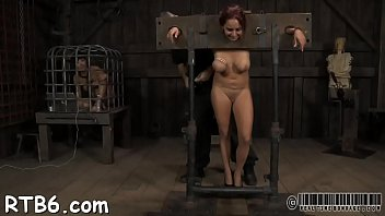 torture pee in pussy funnel Punk and piss