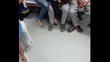 de sao vovo encoxando paulo no metro Wife hole trhoter