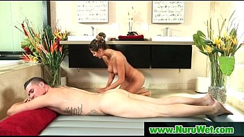massage blonde has sexy nuru lesbian Sexy girl ss between his legs