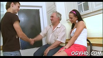 sex she with age movieture his climbs old young even grandmother boy Painful bbc thin girl cries