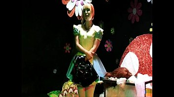 sissy sex crossdressing Russian teen orgy continues