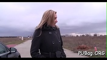 agent holly czech public in Some hot sex toy up my ass