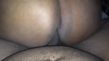 reverse creampie while cowgirl Son slap ass