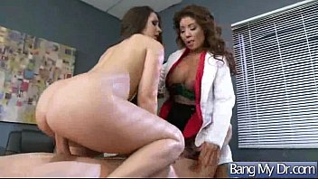 having their way with patient dentist Lady boy solo cum shot