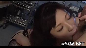milf him out and catches helps Ginza spa japanese oil masage 2