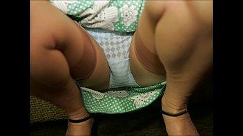 panties silk satin nylon Seducing young teen girl