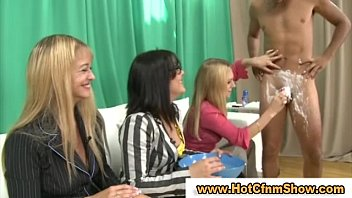 creampie force to cfnm guy Daughter give a hard handjob