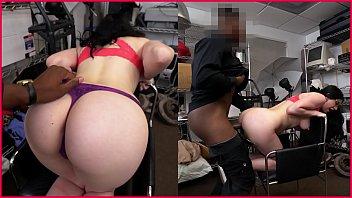 black big 15 beast Chubby wife raped in ass by black man