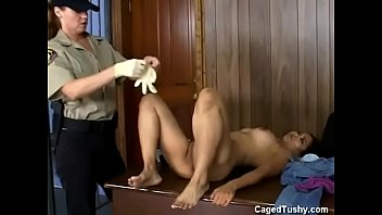 jail whipping anus Alex chance gets her big tits jizzed on