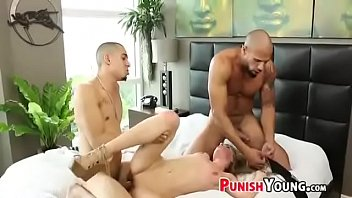 xxx asien cruel brutal Two cocks in the toilet