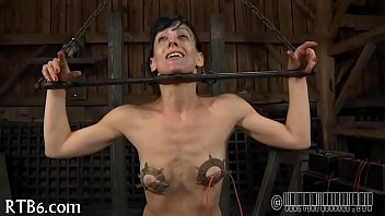 whipping breast for machine Ebony hidden masturbation