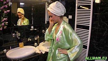 sinful ladies blowjob at have club strip marathon a Milking femdom prostate handjob