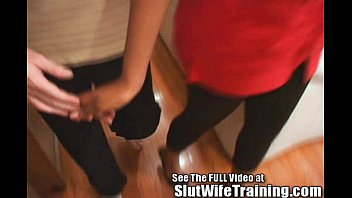 surprised interracial wife Asian daughter drilled