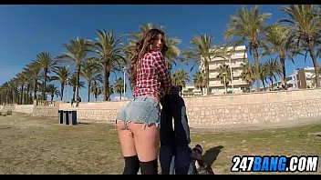 public stranger beach College pussy hard sex teen