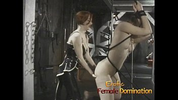two fun lesbians shower in having the Torture machine pass out