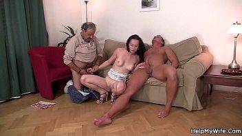 wife share lost Latex mistress slave anal job