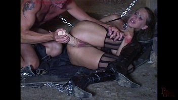 whips chains nipple and clamps Asian lesbian closeup pussy licking pie in the sky position