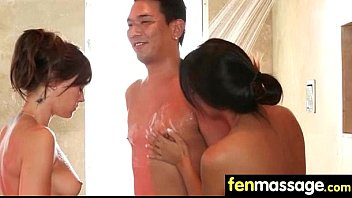 massage tits japan Girls paid to wear
