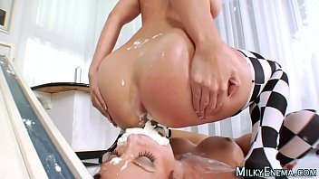 ass eat joi Mom fucks son and father