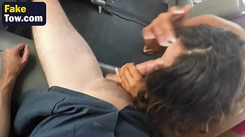 on hot train from the brunette spying Daughter and mom fuck together