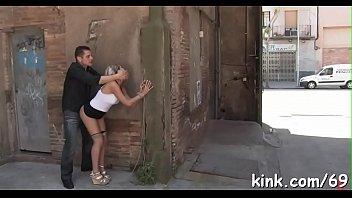 bondage submission and sex compilation Comendo o cu da puta na rua